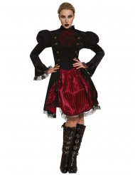 Costume Miss Steampunk donna