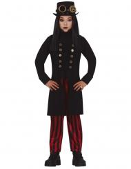 Costume Miss Steampunk bambina