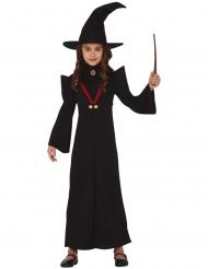 Costume insegnante di magia bambina