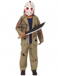 Costume assassino con machete bambino