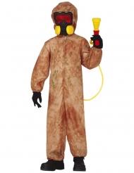 Costume zombie radiottivo bambino