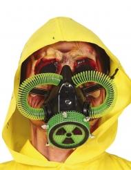 Maschera a gas radioattiva adulto