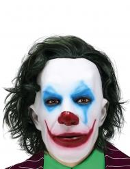 Maschera Mr Smile con capelli adulto