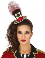 Mini cappello dama calavera donna