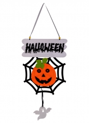 Decorazione zucca di Halloween 60 cm