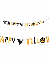 Ghirlanda spaventosa Happy Halloween