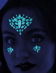 Tatuaggi adesivi fosforescenti donna