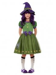 Costume strega verde Santoro™ bambina