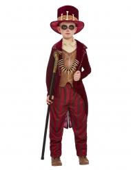 Costume stregone vudù rosso bambino