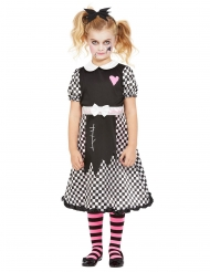 Costume bambola rotta per bambina