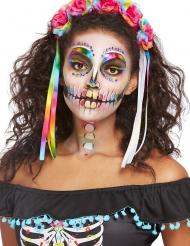Kit trucco scheletro multicolore per donna