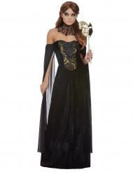 Costume deluxe contessa nera per donna