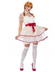 Costume bambola di porcellana sexy donna