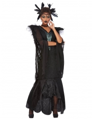 Costume regina dei corvi donna