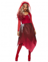 Costume sposa rossa donna