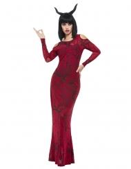 Costume lusso diavolo donna
