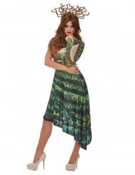 Costume da medusa verde per donna