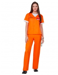 Costume prigioniera Orange is the new black™ per donna