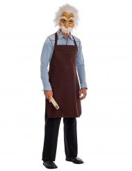 Grembiule e maschera da Geppetto™ per adulto