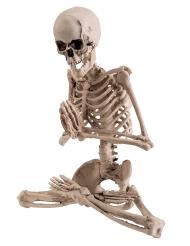 Decorazione scheletro yoga 18 cm