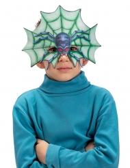 Mezza maschera ragno bambino