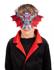 Mezza maschera vampiro bambino