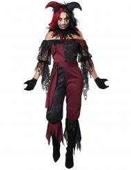 Costume joker psicopatico donna