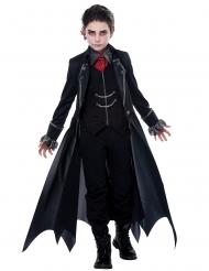 Costume vampiro gotico nero bambino