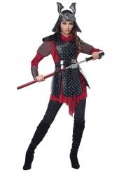 Costume guerriera samurai donna