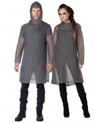Costume cotta di maglia cavaliere adulto