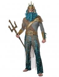Costume da dio del mare per uomo