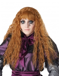 Parrucca lunga ondulata rossa bambina