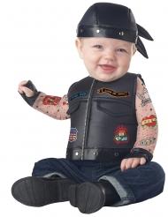 Costume da motociclista per neonato