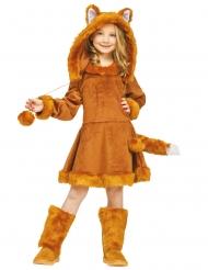 Costume da volpe per bambina