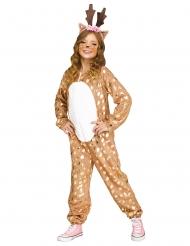 Costume da cervo per bambina