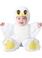 Costume da gufo bianco per bebé