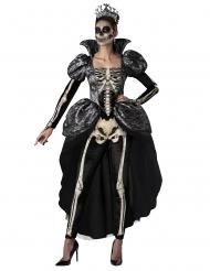 Costume regina scheletro donna