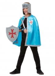 Kit da cavaliere azzurro per bambino