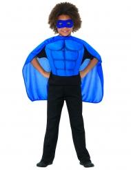 Kit super eroe blu bambino