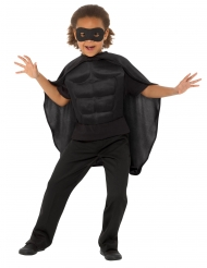 Kit super eroe nero bambino