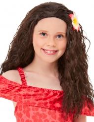 Parrucca principessa hawaiana bambina