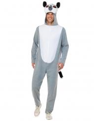 Costume lemure grigio adulto