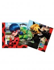 20 Tovaglioli compostabili Miraculous Ladybug™
