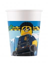 8 Bicchieri in cartone FSC® Lego City™ 200 ml