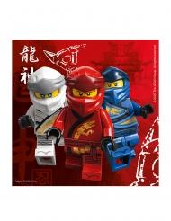 20 Tovaglioli di carta FSC® Lego Ninjago™ 33 cm
