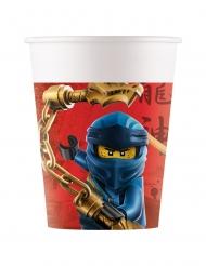 8 Bicchieri in cartone FSC® Lego Ninjago™ 200 ml