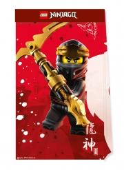 4 Bustine regalo in carta FSC® Lego Ninjago™