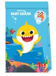 4 Bustine regalo in carta FSC® Baby Shark™