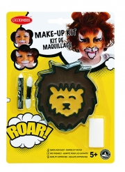 Kit trucco leone con pennello e spugnetta bambini
