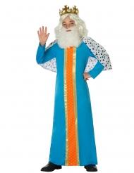 Costume da re magio azzurro per bambino